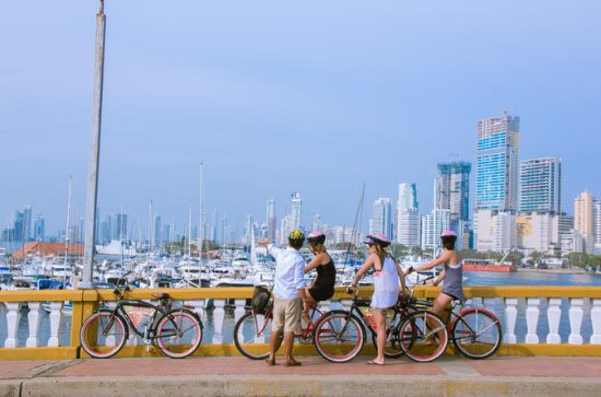 Visite en vélo à Carthagène