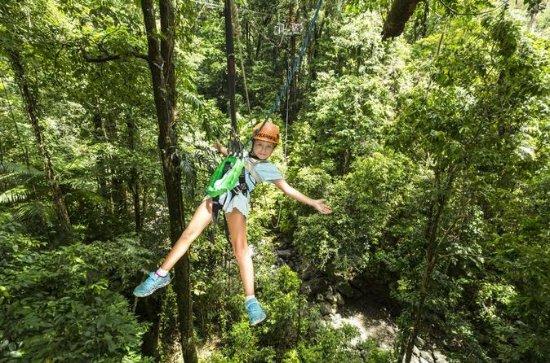 Best of Roatan Zip Line adventure