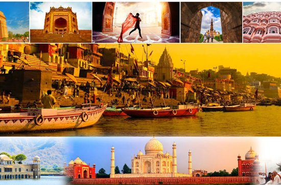 11 DAYS GOLDEN TRIANGLE & VARANASI...