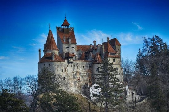Bran Castle Rasnov fortress and Brasov