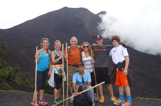 PACAYA ACTIVE VOLCANO HIKE from