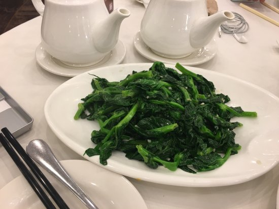 Empire Seafood Restaurant : Stir fried pea's tips