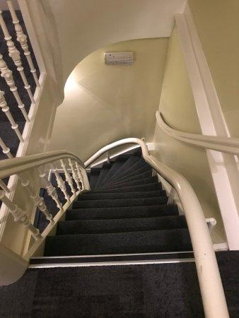 't Hotel: 2. kata çıkan merdiven