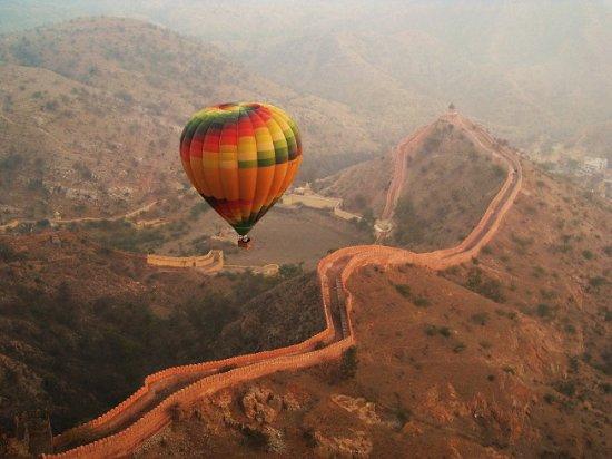 Virsa Travels: Hot Air Balloon Ride, Jaipur