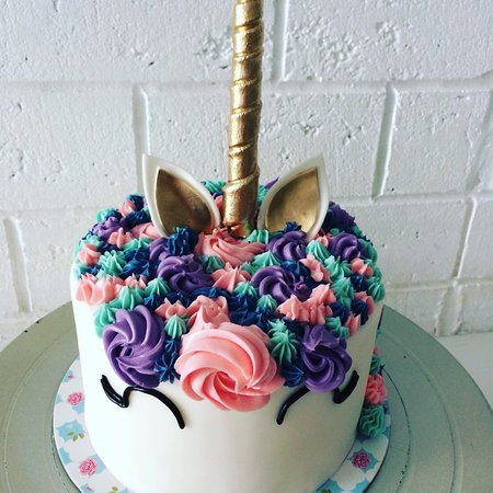 Unicorn Birthday Cake Custom Made In Phuket