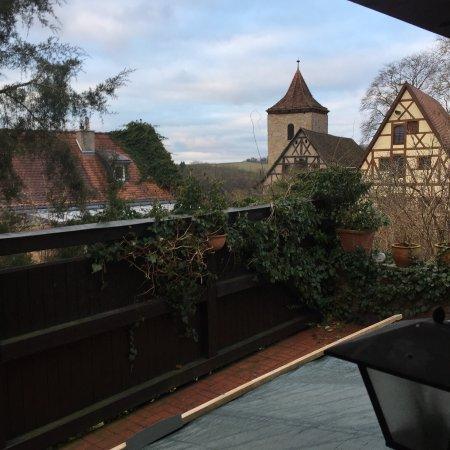 Hotel Klosterstueble: 小窓からの眺め