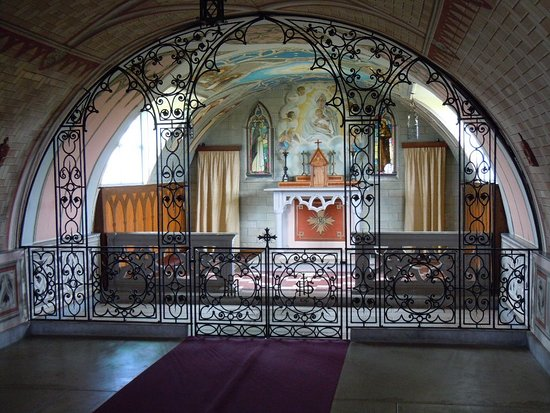St. Mary's, UK: Interior Italian Chapel