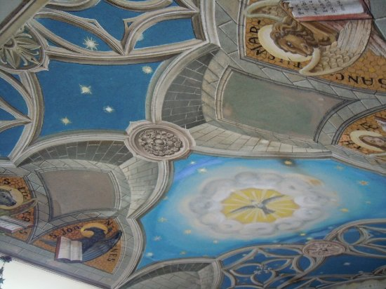 St. Mary's, UK: Ceiling Italian Chapel