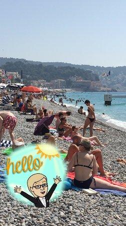 Public beach - Bild von Hotel de la Fontaine, Nizza - TripAdvisor