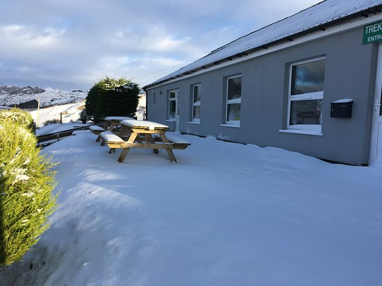 Llan Ffestiniog, UK: December snow