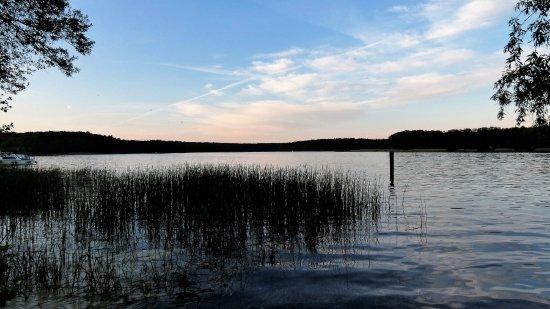 Alt-Ruppin, Germany: keine 50 m weiter gibt es diese Aussicht
