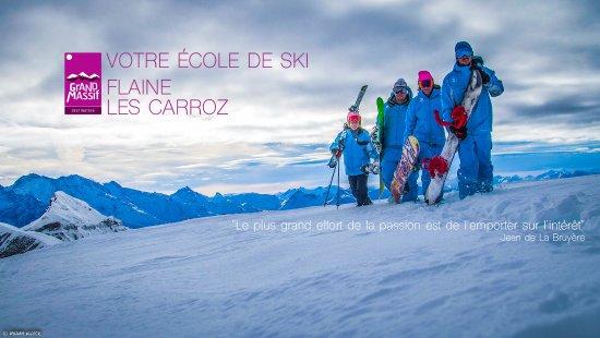 Les Carroz-d'Araches, Frankreich: ESI Grand Massif - Les Carroz, Flaine. Votre école de ski et snowboard ...