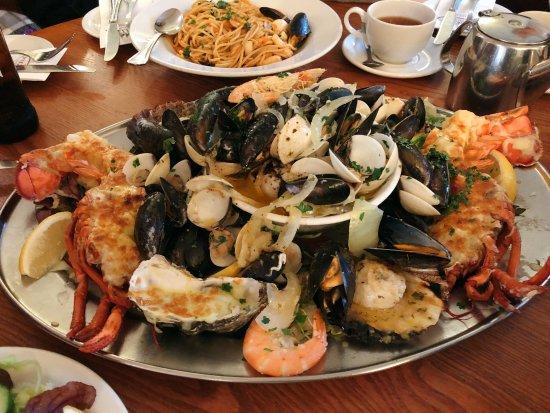 seafood platter picture of regency restaurant brighton. Black Bedroom Furniture Sets. Home Design Ideas