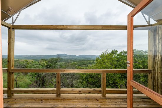 White River, South Africa: View from the Luxury Safari tent balcony