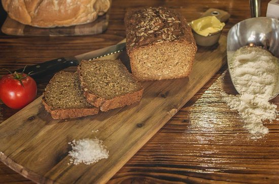 Chef's Cafe: Home Made Brown Bread