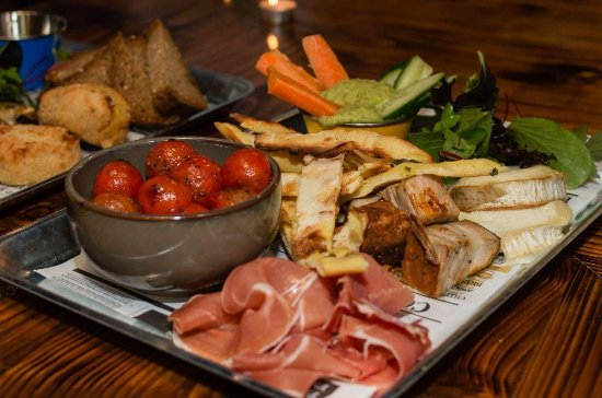 Craughwell, Irland: Chefs Cafe Nights Sharing Platter