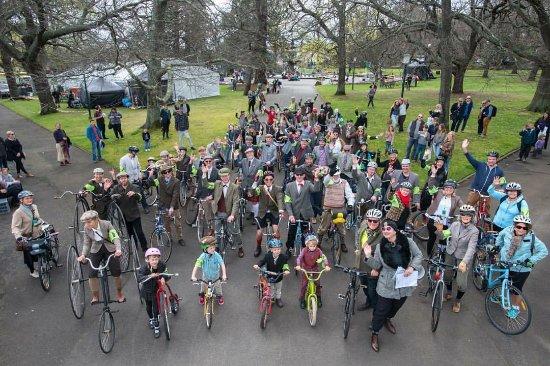 Invermay, Australia: Tweed Riders gather