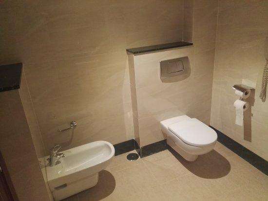 Cuarto de aseo (dispone también de lavabo) - Picture of Occidental ...