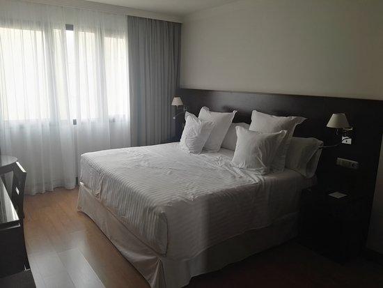 Occidental Granada: la cama es espectacular