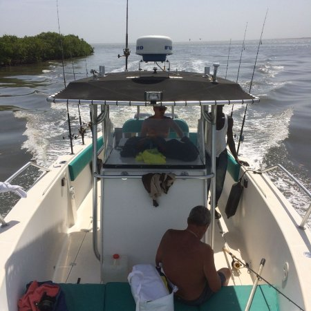 Bakau, Gambia: Sea, river and beach fishing trips. Per february 2018 blue water as well. Reliable and safe comp