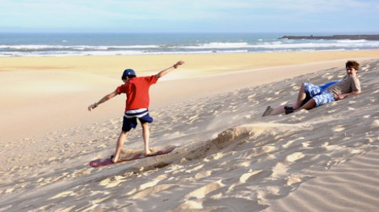 Outdoor Focus: Dune Boarding on East Beach! Rent a Duneboard and pick a dune!