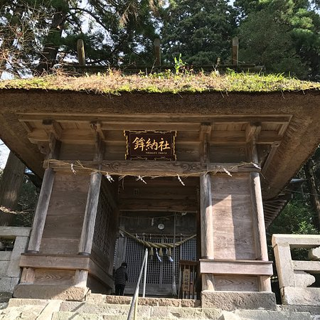Oguni-machi, Japan: 古めかしいが、楼門がかわいい