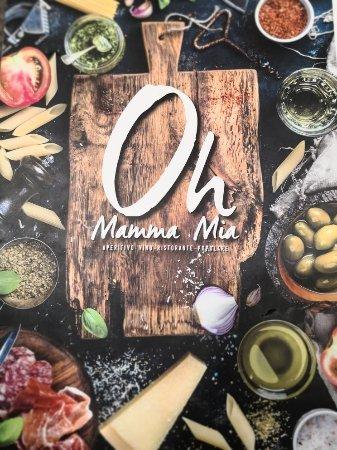 Restaurant Mamma Mia Nimes Carte