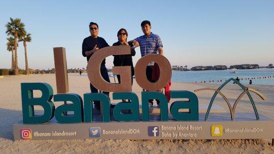 Azraq at Banana Island Resort Doha by Anantara: We went bananas at Azraq Restaurant, Banana Island :)
