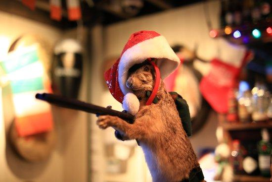 the drunk rabbit christmas version - Drunk Christmas