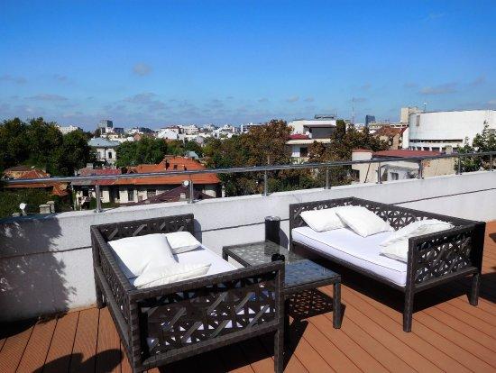 Sarroglia Hotel: Rooftop view