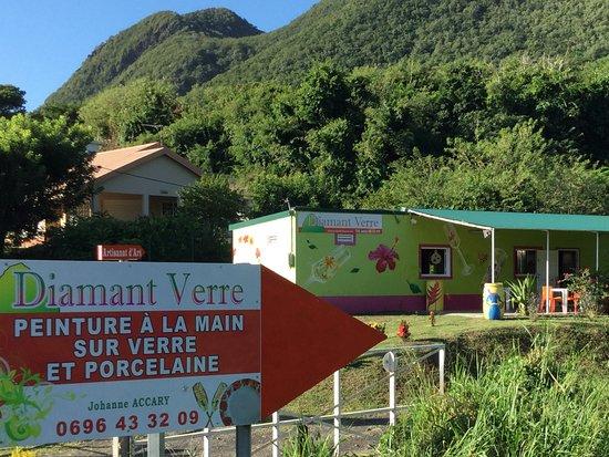 Le Diamant, Martinica: Vue de l'exterieur
