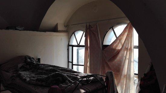 Petra Hotel & Hostel: Las cortinas...