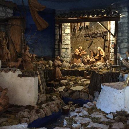 Greccio, Italie : Presepe