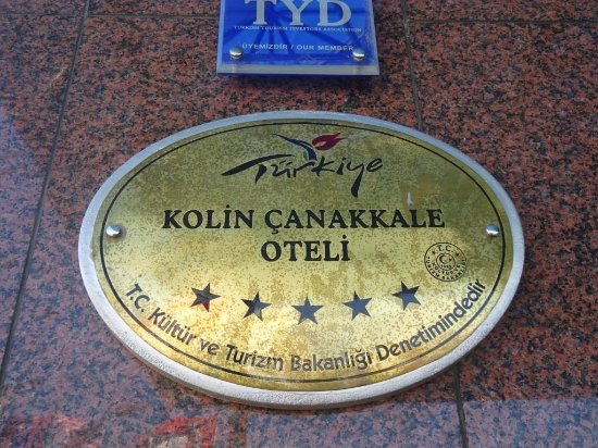 Kolin Hotel: Entrada