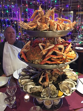 Le Cancalais : plateau de fruits de mer pour 4
