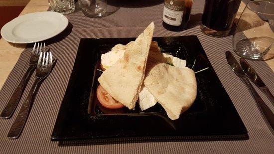 Schonried, Switzerland: Mozzarella di bufala