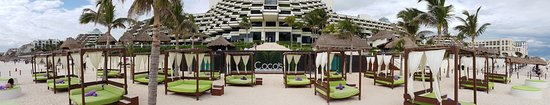 Paradisus Cancun: Coco's beach (royal / family concierge only)