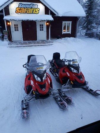 Snow Fun Safaris Lapland: 20171226_122248_large.jpg