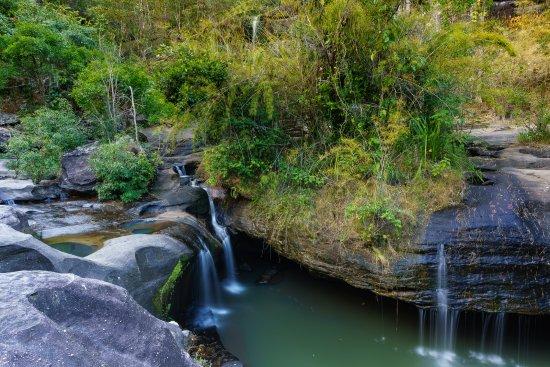 Ubon Ratchathani Province, Tajlandia: Soi Sawan Waterfall inside Pha Taem National Park - Ubon Ratchathani