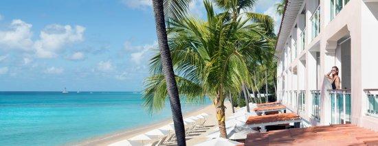 Porters, Barbados: Deluxe Room Balcony overlooking Barbados' Platinum Coast