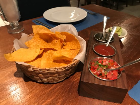 Sandra's: Chips and Salsa included