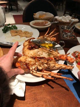 Puerto Nuevo, Messico: 3 medium lobster halves
