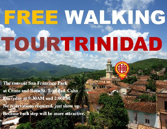 Free Walking Tour Trinidad