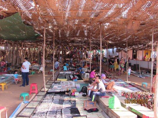 Anjuna, Hindistan: Market View