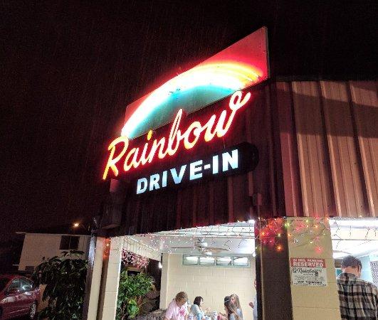 Rainbow Drive-In Photo
