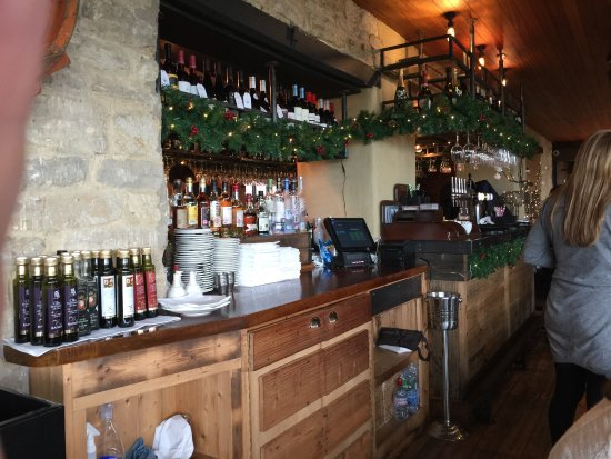 Cosgrove, UK: The restaurant