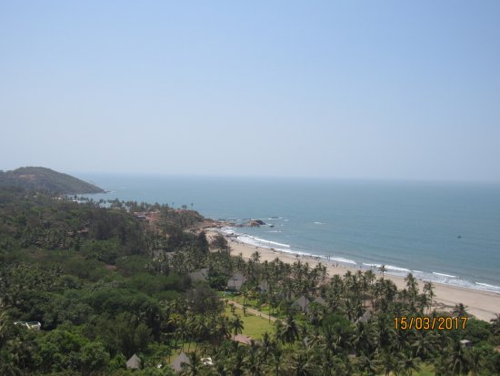 Chapora, Indie: View from the Fort