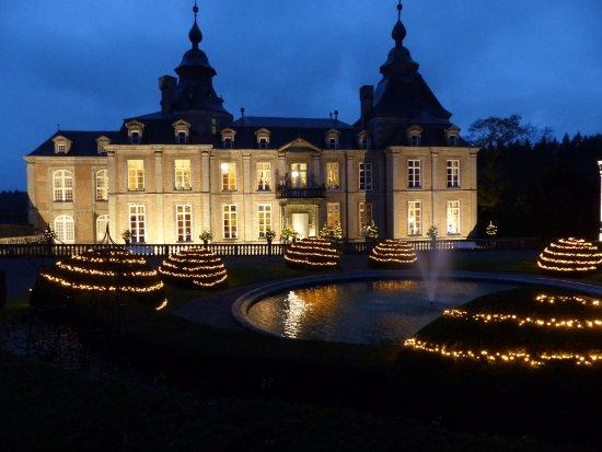 Chateau de Modave : période de fin d'année à Modave