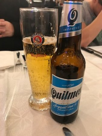Rastignano, Italien: Birra Quilmes da 33cl