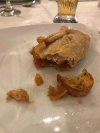 Rastignano, Italien: Interno del Empanada di pollo